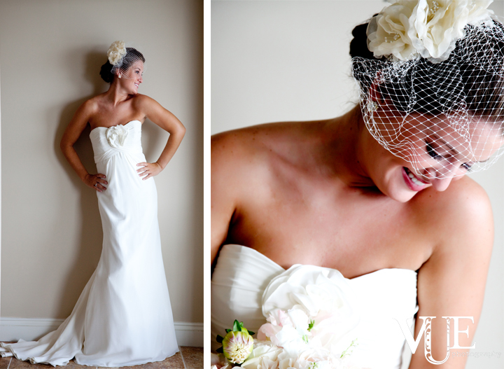 Natalie created such a classy and elegant feel for her wedding