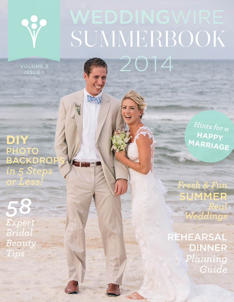 WeddingWire - SummerBook - Cover and Feature - Vue Photography