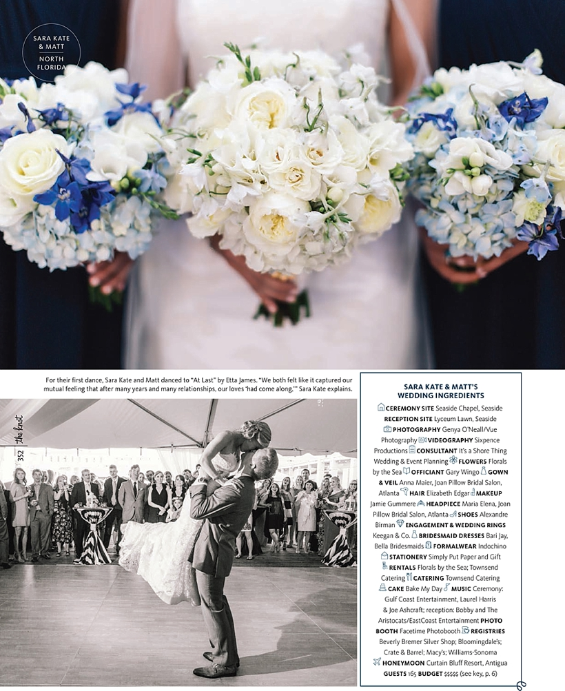 The Knot: Sara Kate + Matt Real Wedding Feature