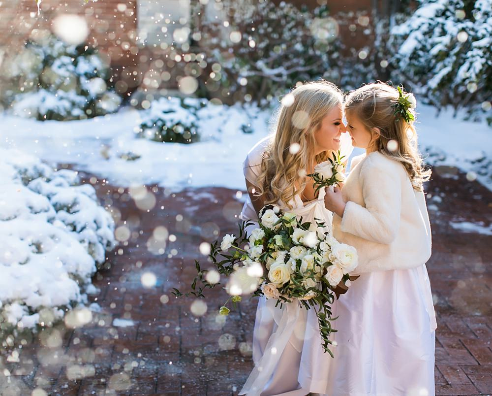 vue photography : snowy wedding : oliver hooper events : modfete 0004