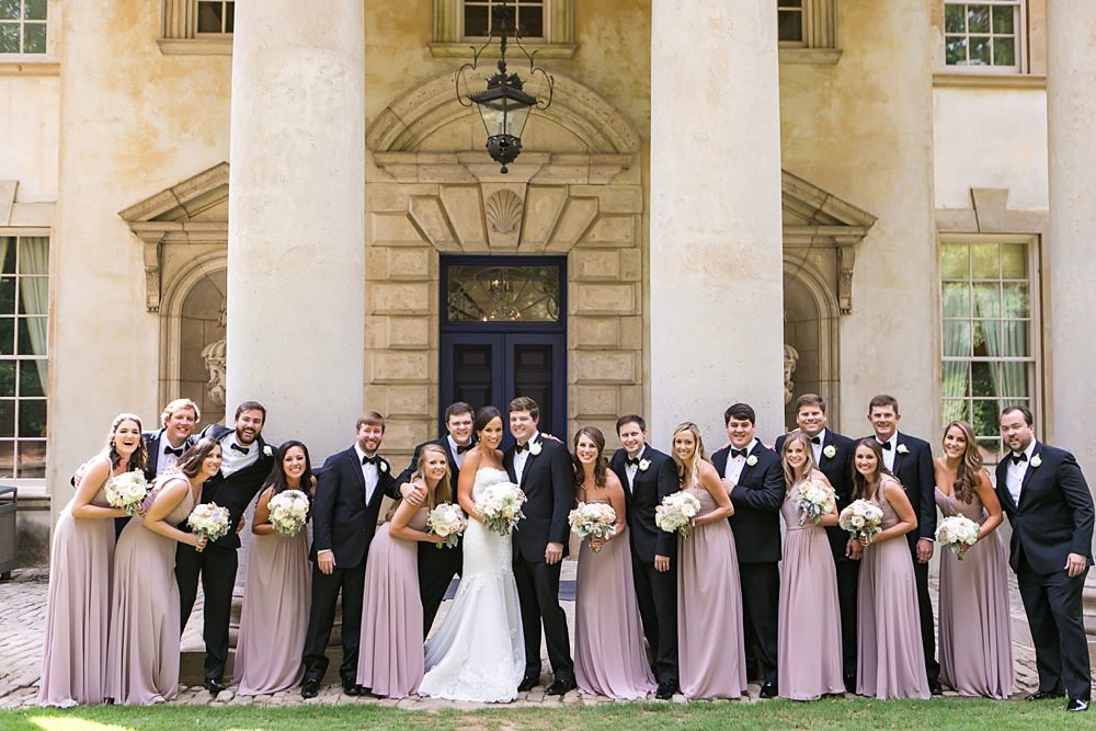 swan house : atlanta history center wedding : toast events : vue photography0026