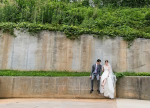 the foundry at puritan mill wedding : atlanta wedding : vue photography : amanda jewel floral and design : three little birds weddings0035