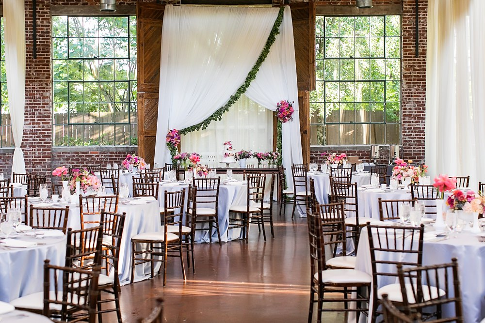 the foundry at puritan mill wedding : atlanta wedding : vue photography : amanda jewel floral and design : three little birds weddings0082