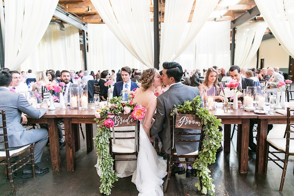 the foundry at puritan mill wedding : atlanta wedding : vue photography : amanda jewel floral and design : three little birds weddings0090