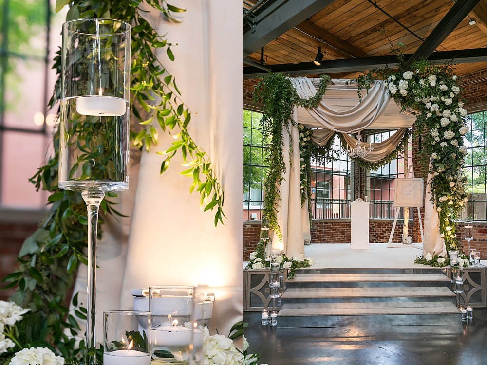 the foundry at puritan mill wedding : suzanne reinhard events : legendary events : vue photography : added touch catering0048
