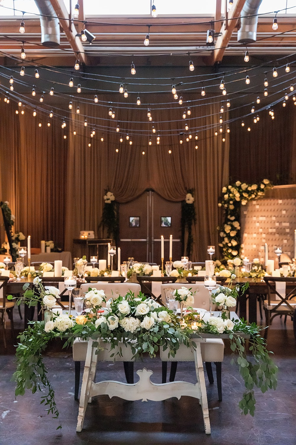 the foundry at puritan mill wedding : suzanne reinhard events : legendary events : vue photography : added touch catering0084