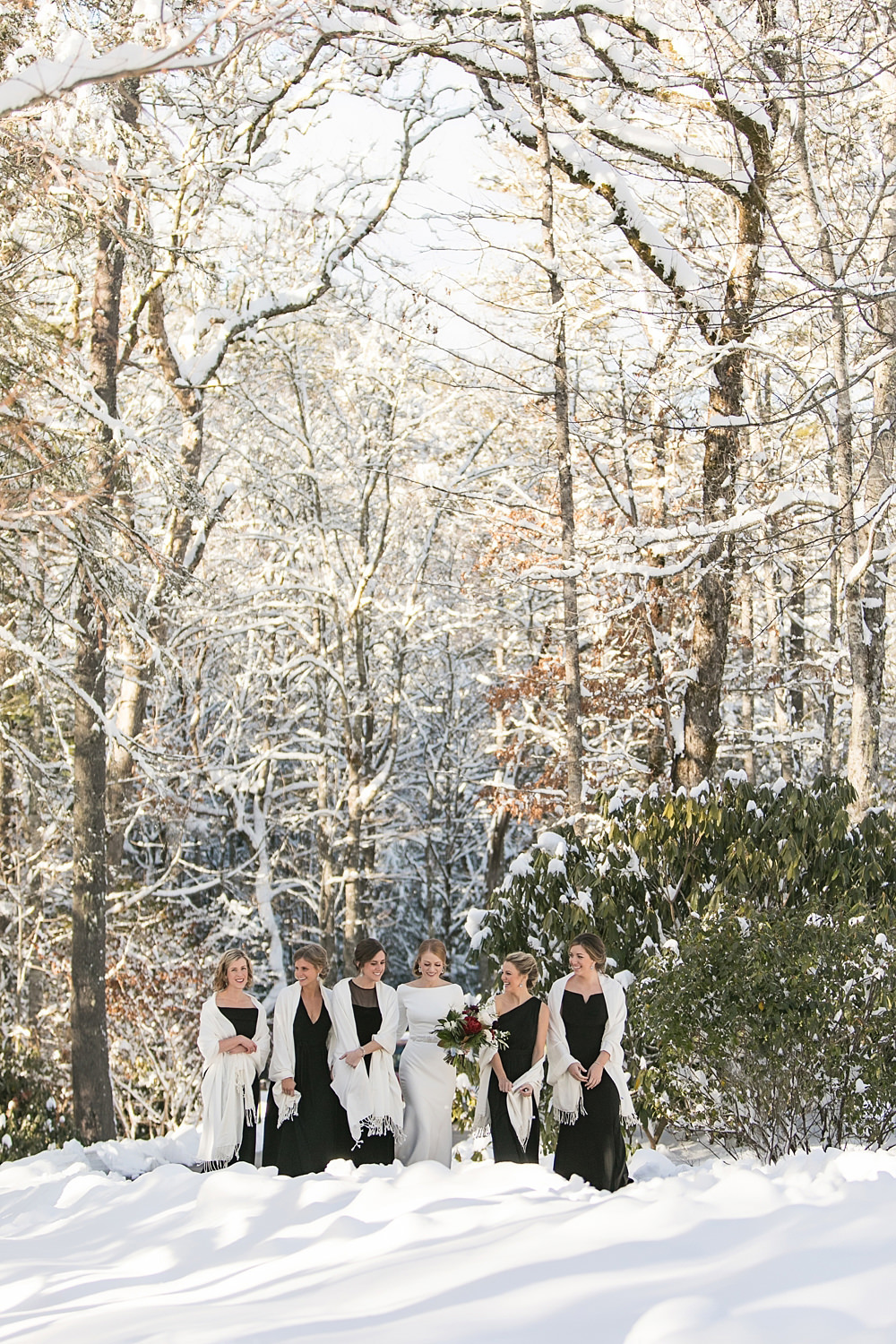snowy wedding : highlands north carolina : the farm at old edwards : floressense flowers : vue photography (28)