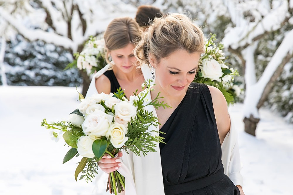 snowy wedding : highlands north carolina : the farm at old edwards : floressense flowers : vue photography (31)