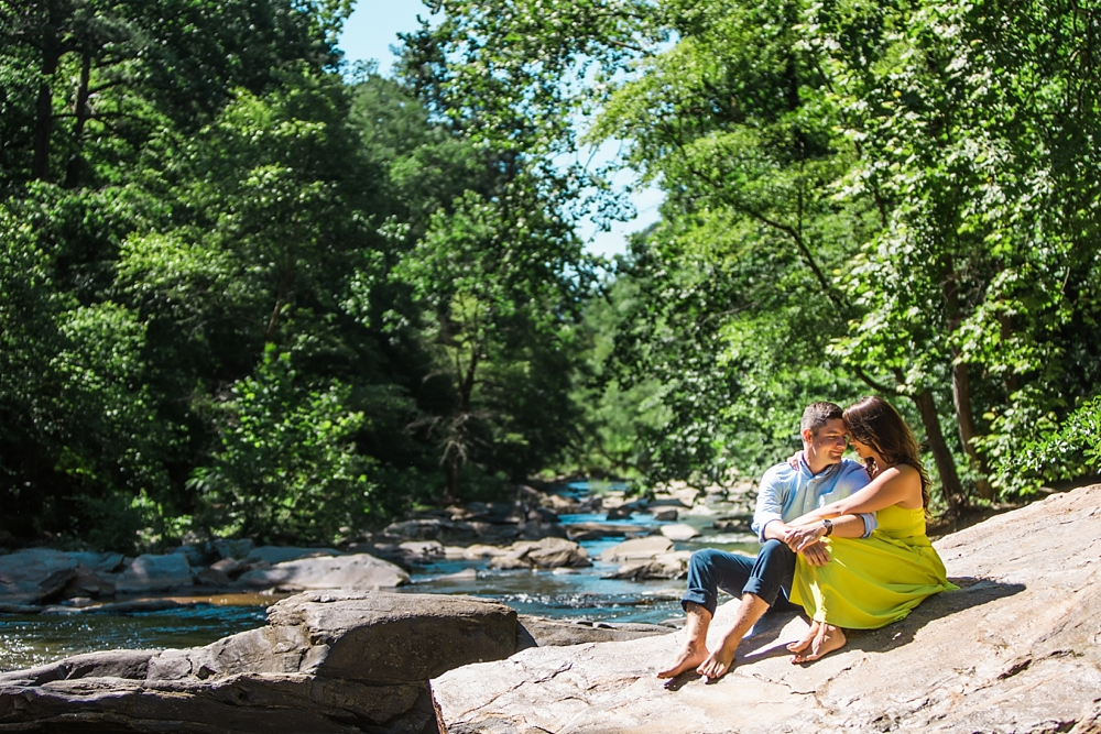 sope creek engagement shoot : vue photography0024