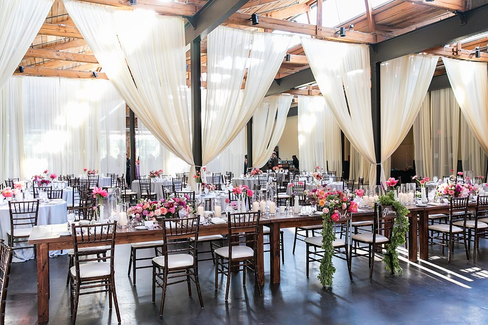 the foundry at puritan mill wedding : atlanta wedding : vue photography : amanda jewel floral and design : three little birds weddings0071