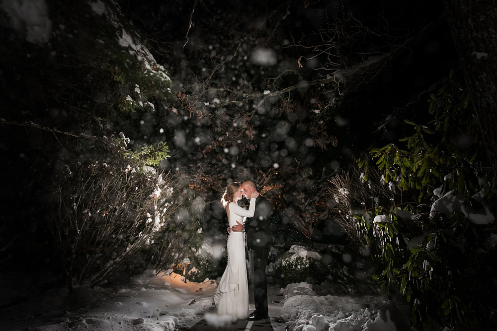 snowy wedding : highlands north carolina : the farm at old edwards : floressense flowers : vue photography (68)