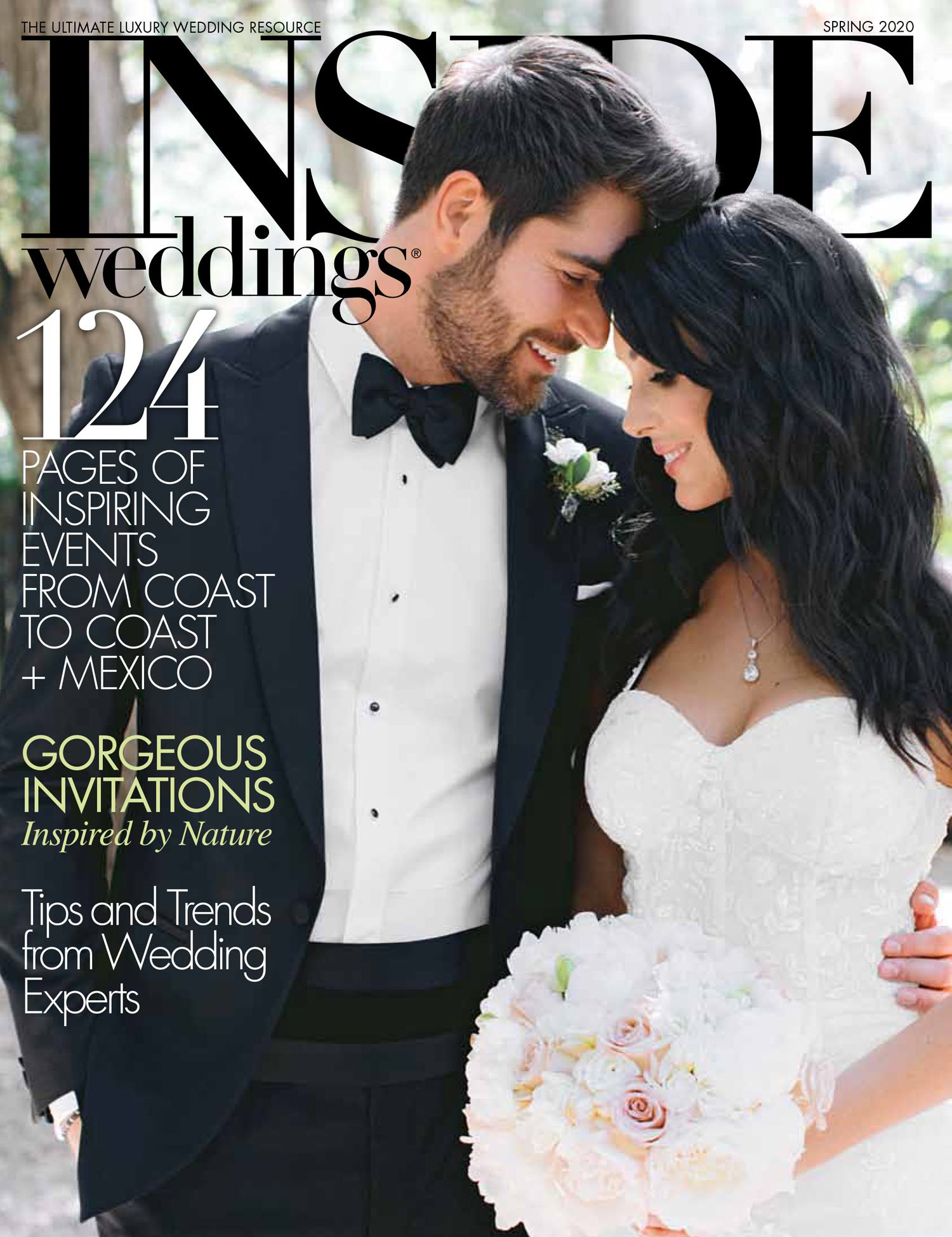 Published: Inside Weddings, Spring Issue 2020. Tanya and Charley